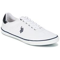 Zapatos Hombre Zapatillas bajas U.S Polo Assn. RAY Blanco