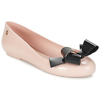 Zapatos Mujer Bailarinas-manoletinas Melissa SPACE LOVE IV Rosa / Negro