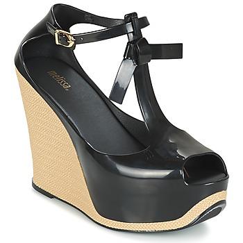 Zapatos Mujer Sandalias Melissa PEACE VI Negro / Beige