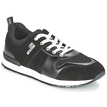 Zapatos Mujer Zapatillas bajas Love Moschino JA15062G13 Negro