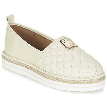Zapatos Mujer Alpargatas Love Moschino JA10093G13 Crema