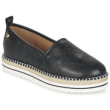 Zapatos Mujer Alpargatas Love Moschino JA10113G13 Negro