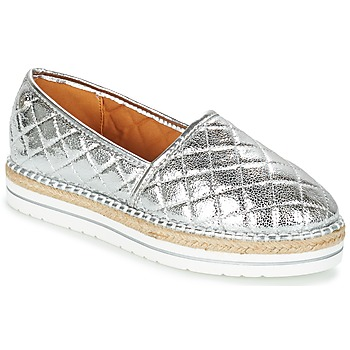 Zapatos Mujer Alpargatas Love Moschino JA10313G03 Plata