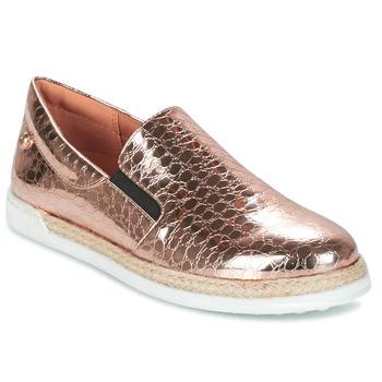 Zapatos Mujer Slip on Love Moschino JA10353G03 Oro / Rosa