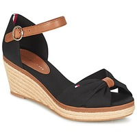 Zapatos Mujer Sandalias Tommy Hilfiger ELBA 40D Negro / Marrón