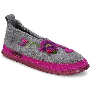 Zapatos Mujer Pantuflas Giesswein TANGERHÜETTE Gris