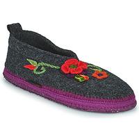 Zapatos Mujer Pantuflas Giesswein TANGERHÜETTE Antracita