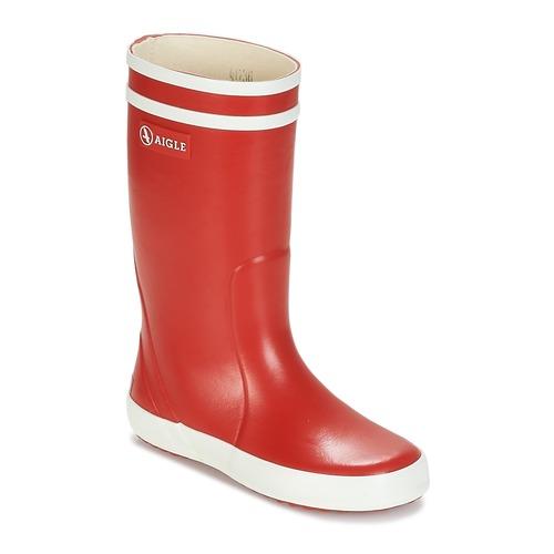 Aigle LOLLY POP Rojo / Blanco - Envío gratis | ! - Zapatos Botas de agua Nino