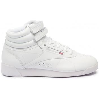 Reebok Sport Classics Freestyle Hi blanc - bottines femme blanc