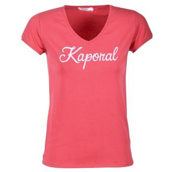 textil Mujer camisetas manga corta Kaporal NIAM Rosa