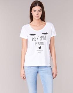 textil Mujer camisetas manga corta Kaporal ASMA Blanco