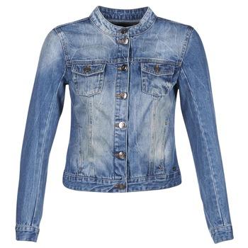 textil Mujer chaquetas denim DDP DASTIONA Azul / Medium