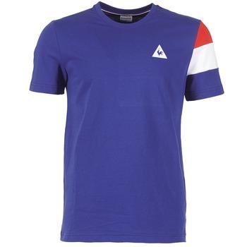 textil Hombre camisetas manga corta Le Coq Sportif BLUREA Azul