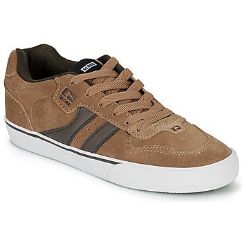 Zapatos Hombre Zapatos de skate Globe ENCORE-2 Marrón