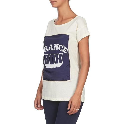 Corta Mujer Blanco Manga Warhol Camisetas Textil Kling 0nwkOPX8