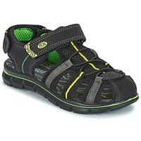 Zapatos Niño Sandalias Primigi TEVEZ Negro / Verde