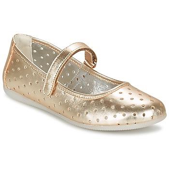 Zapatos Niña Bailarinas-manoletinas Primigi FANTASY FLAT Dorado