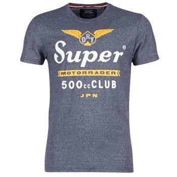 textil Hombre camisetas manga corta Superdry 500 CLUB MOTORRADER Gris