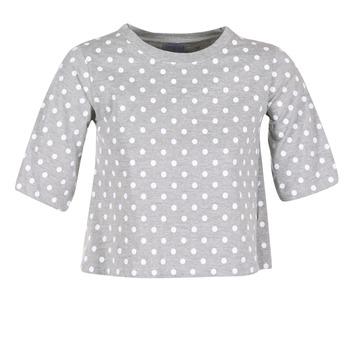 textil Mujer camisetas manga corta Compania Fantastica EPOITATI Gris / Blanco