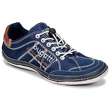 Zapatos Hombre Zapatillas bajas Bugatti LAMETE Marino