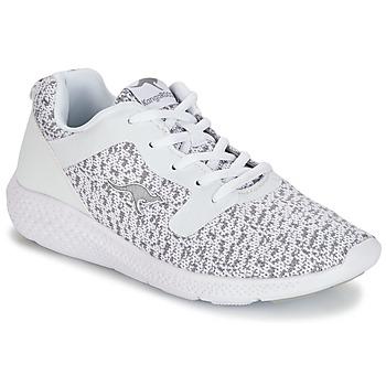 Zapatos Mujer Zapatillas bajas Kangaroos KV 2 Blanco / Gris