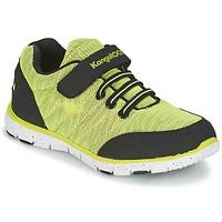 Zapatos Niño Zapatillas bajas Kangaroos NURI ZEBRA Verde / Negro