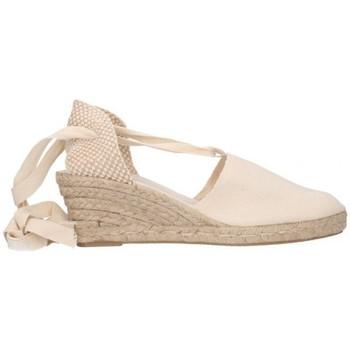 Zapatos Hombre Alpargatas Fernandez VALENC. CINTAS Mujer Beige beige