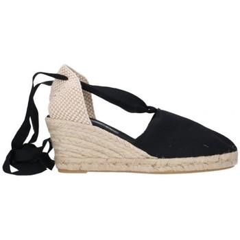 Zapatos Hombre Alpargatas Fernandez VALENC. CINTAS Mujer Negro noir
