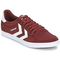 Zapatos Zapatillas bajas Hummel STADIL CANEVAS LOW Burdeo