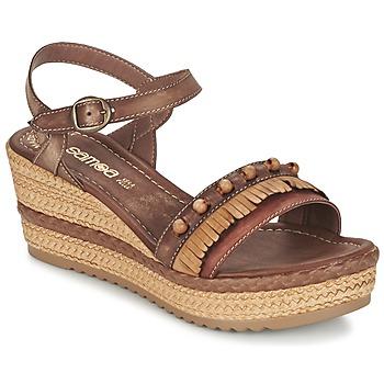 Zapatos Mujer Sandalias Samoa MOLAY Marrón