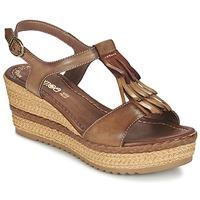 Zapatos Mujer Sandalias Samoa DREDU Marrón