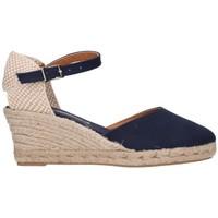 Zapatos Mujer Alpargatas Fernandez 682  5c Mujer Azul marino bleu