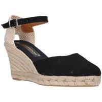 Zapatos Mujer Alpargatas Fernandez 682       7c Mujer Negro noir