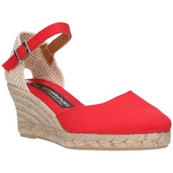 Zapatos Mujer Alpargatas Fernandez 682  5c Mujer Rojo rouge