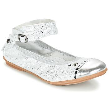 Zapatos Niña Bailarinas-manoletinas Ikks EMILY Plata