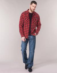 textil Hombre vaqueros bootcut Levi's 527 LOW BOOT CUT Azul