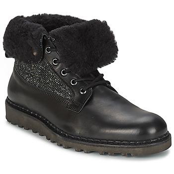 Zapatos Hombre Botas de caña baja Nobrand STREET Negro