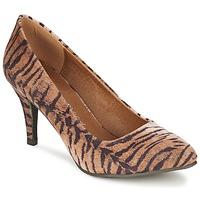 Zapatos Mujer Zapatos de tacón Moony Mood LENI Tigre