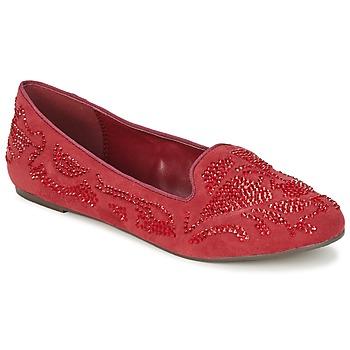 Zapatos Mujer Mocasín Moony Mood LUDIA Rojo
