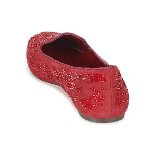 Ludia Zapatos Mood Rojo Mujer Mocasín Moony ARjL354