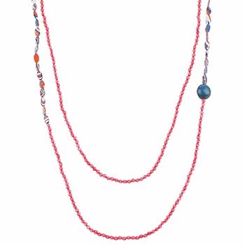 Relojes Mujer Collar Zaza Factory INDIEN Rosa