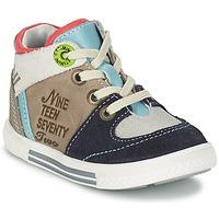 Zapatos Niño Zapatillas altas Catimini PIMENT Gris / Turquesa