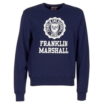 textil Hombre sudaderas Franklin & Marshall NESS OFRA Marino