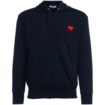 textil Hombre sudaderas Comme Des Garcons Sudadera  negra corazón rojo Negro