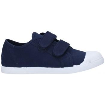 Zapatos Niño Deportivas Moda V-n Lona Azul marino