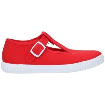 Zapatos Niño Deportivas Moda V-n Lona Rojo