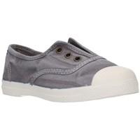 Zapatos Niña Zapatillas bajas Natural World 470E gris