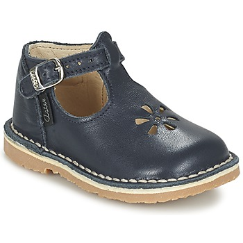 Zapatos Niña Bailarinas-manoletinas Aster BIMBO Azul