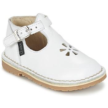 Zapatos Niña Bailarinas-manoletinas Aster BIMBO Blanco