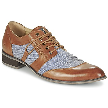 Zapatos Hombre Derbie Kdopa AGADIR Camel / Azul